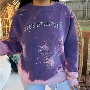 Nike Vintage Custom Bleach Splatter Sweatshirt